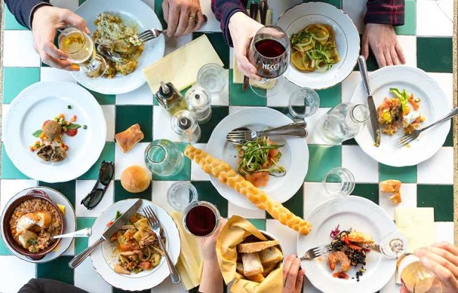 Domenica a pranzo a Roma