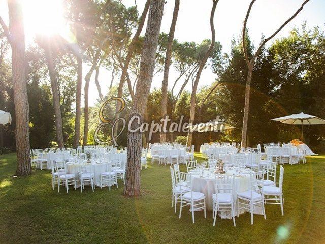 Parco Iris Roma 10 preparazione-cena-sotto-la-pineta-2