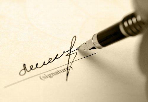 Lettera di referenza
