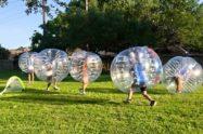 Bubble Soccer per una festa aziendale