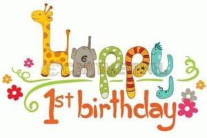 Come organizzare il primo compleanno di un figlio