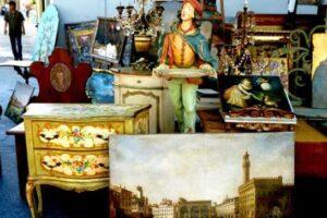 Mercato delle pulci a Roma